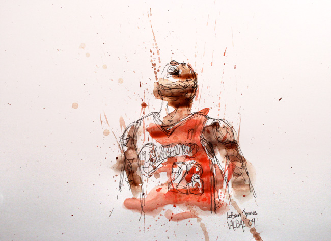 illustrateur basketball