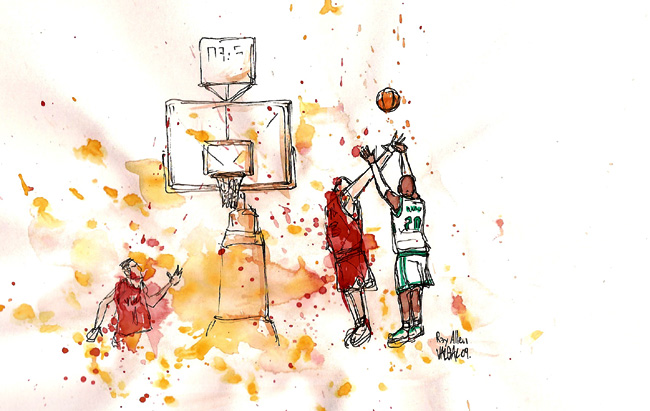 illustration basket-ball