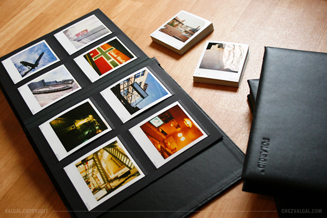polaroid classic photo album valgal graphiste. Black Bedroom Furniture Sets. Home Design Ideas