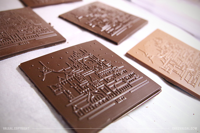 Illustrateur - dessin sur chocolat