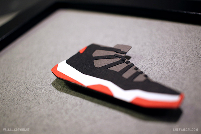 Air Jordan XI Bred - Sneakers Papercut