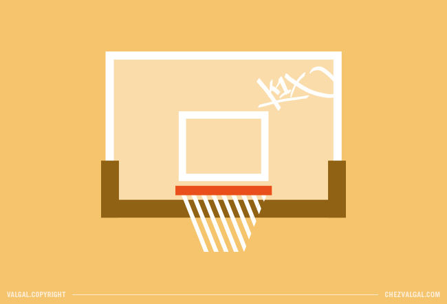 basketball - illustration - graphisme