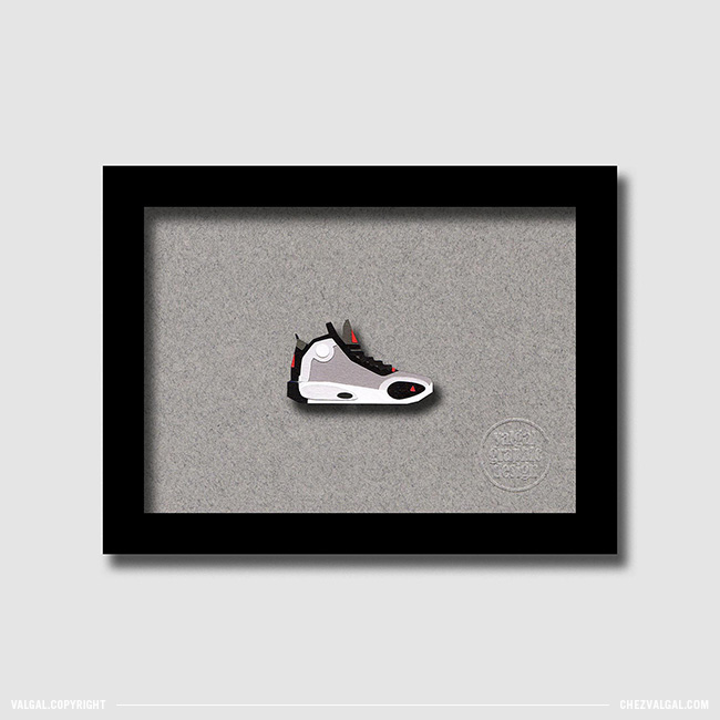 Sneakers Papercut - Valgal Graphic Design
