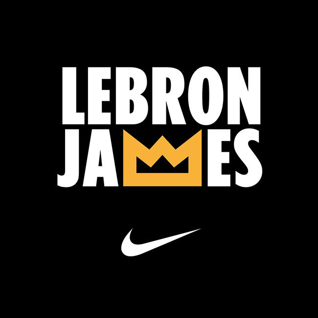 King - LeBron James - Crown - Logo