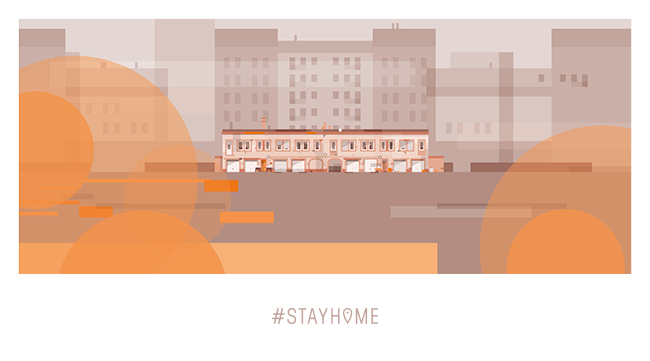 StayHome - Illustration