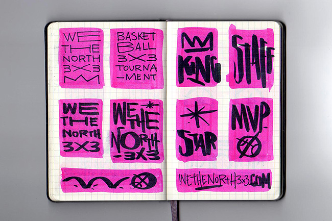 valgal graphic design - we the north 3x3